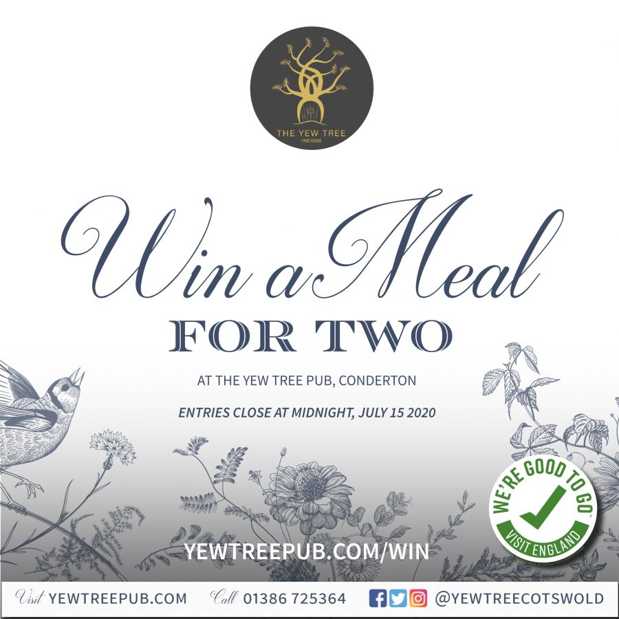 Competition – Win a meal for two!