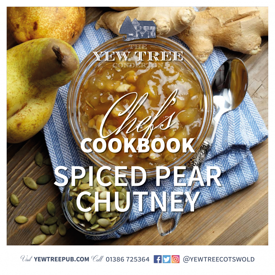 Chef's Cookbook – Spiced Pear Chutney